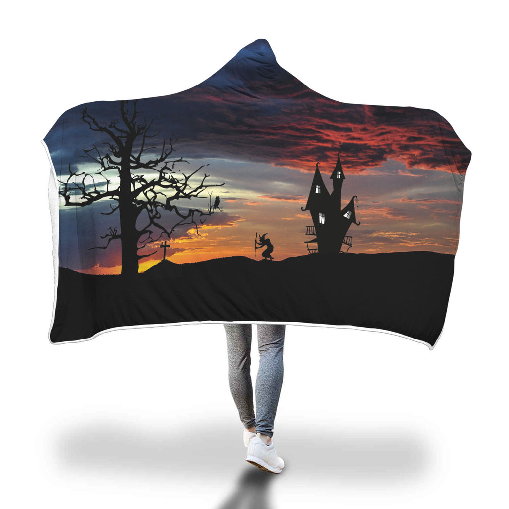 Halloween 7.0 Special Custom Hooded Blanket - Hooded Blanket