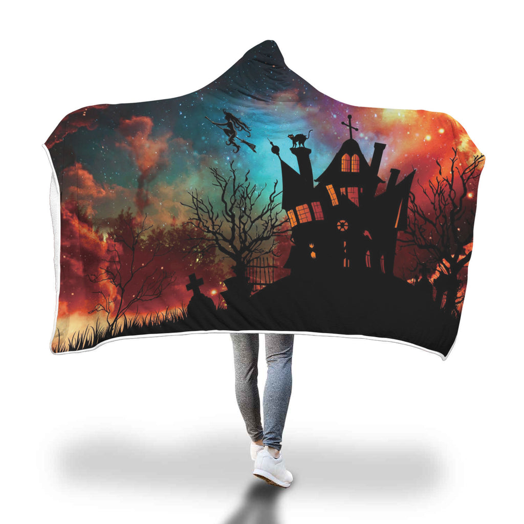 Halloween 8.0 Special Custom Hooded Blanket - Hooded Blanket
