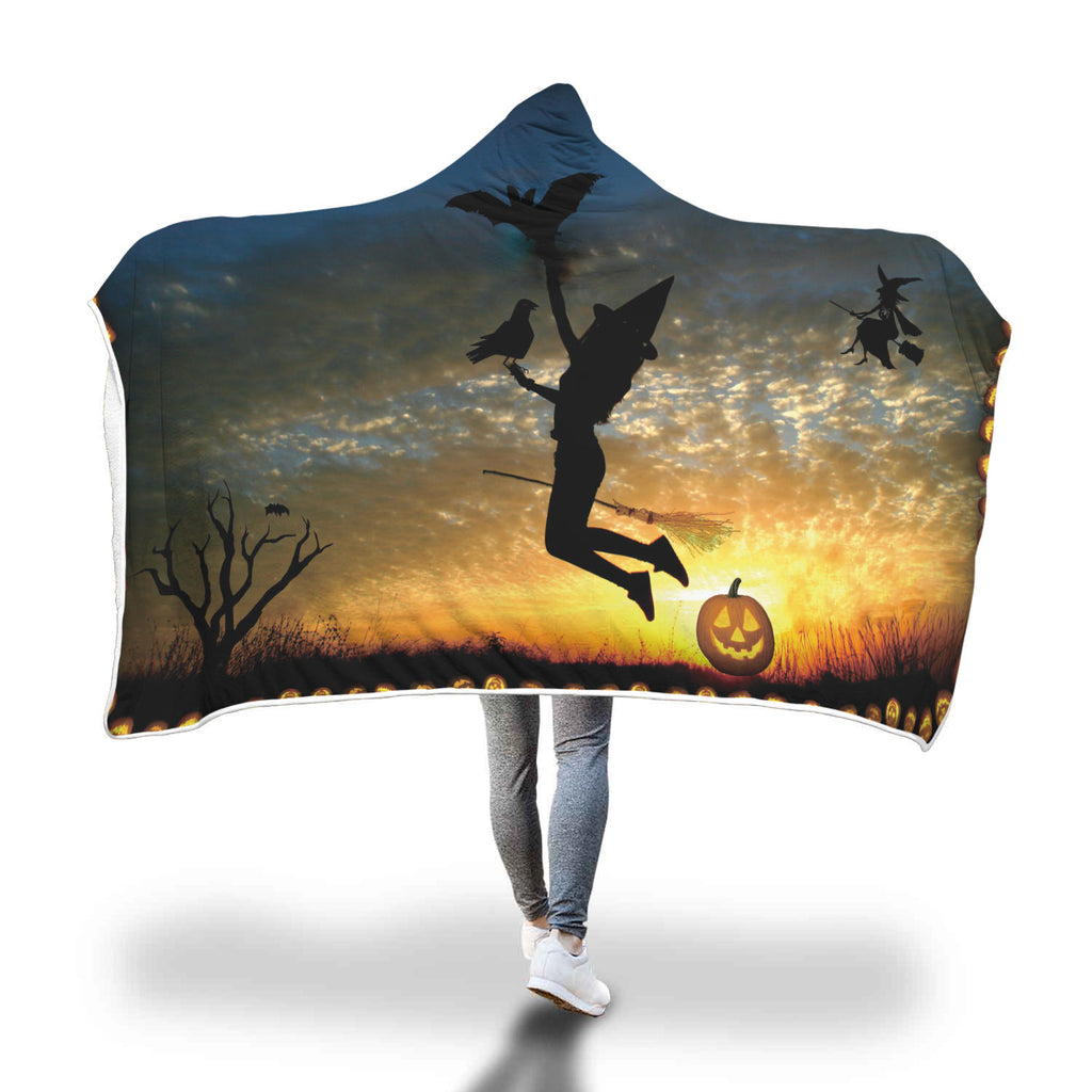 Halloween 9.0 Special Custom Hooded Blanket - Hooded Blanket
