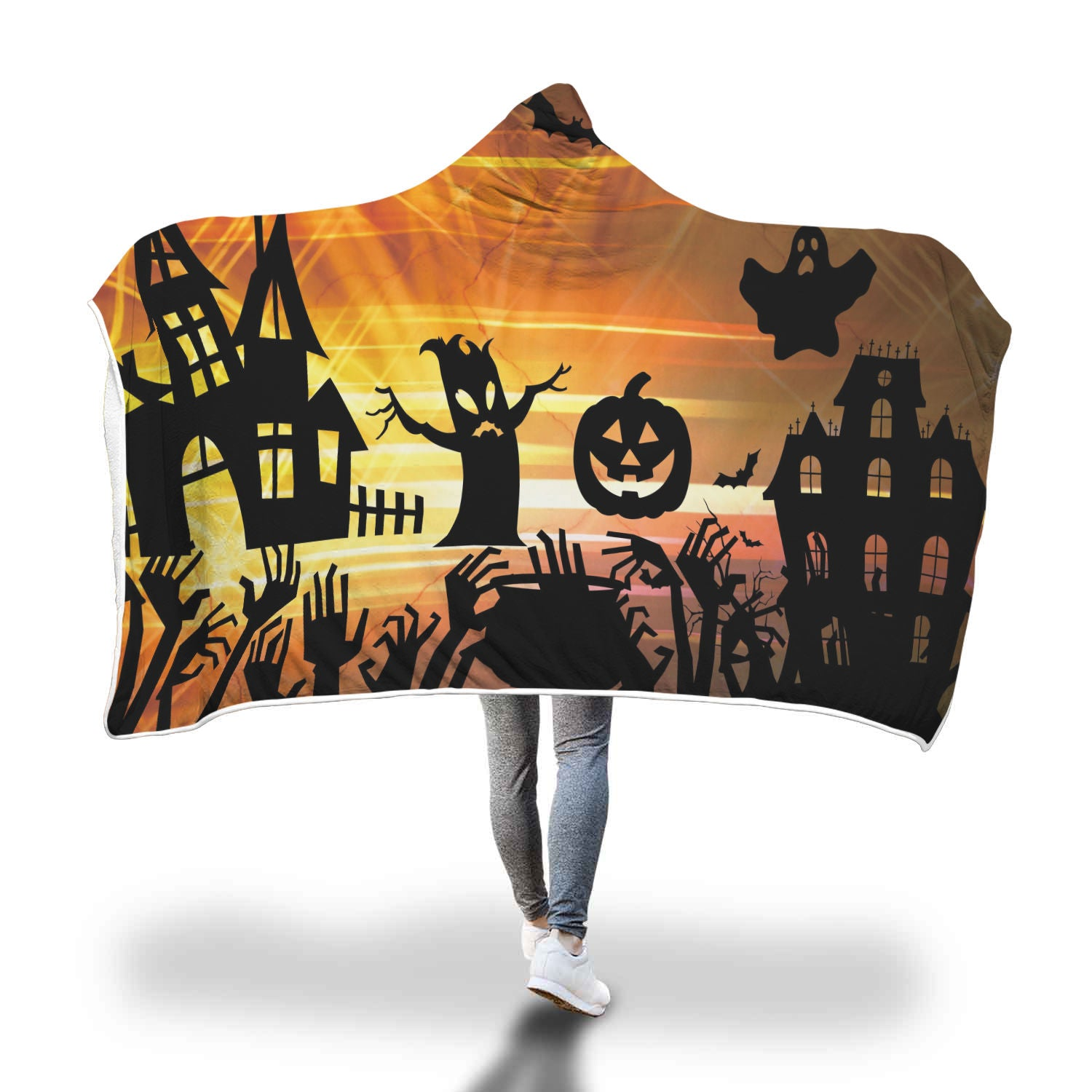 Halloween 12.0 Special Custom Hooded Blanket - Hooded Blanket