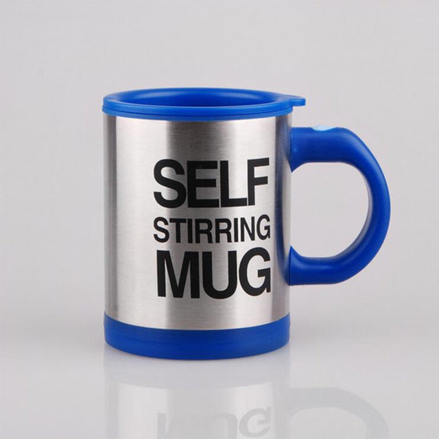 Lazy Self Stirring Mug - Deep Blue