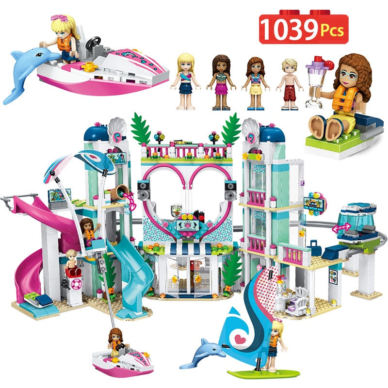 Friends Heartlake City Resort 41347 - Building Block Gift Toys For Children - Building Blocks