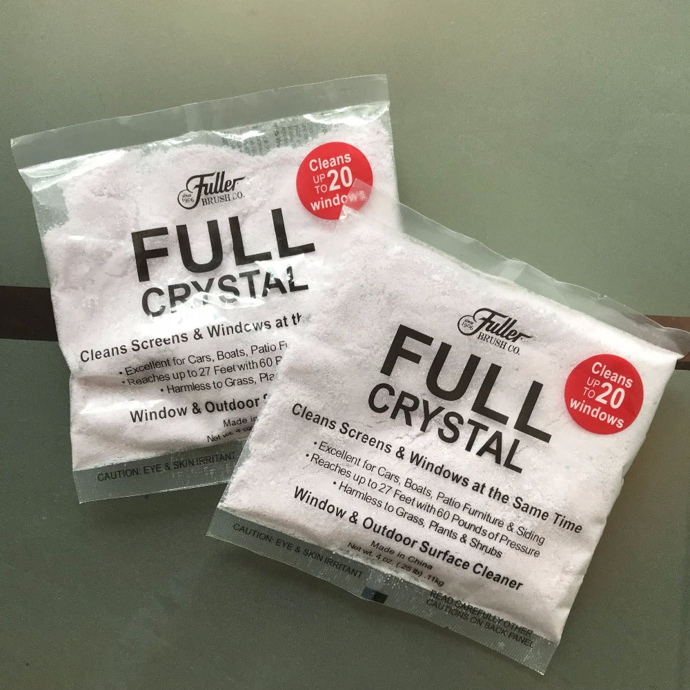Full Crystal Outdoor Glass Cleaner