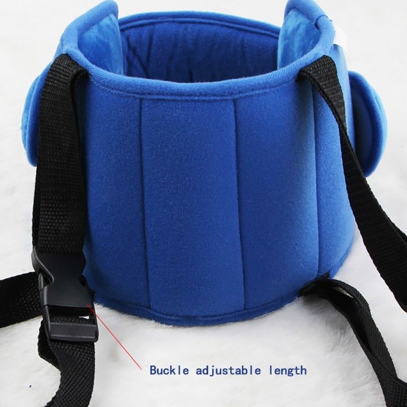 Adjustable Kids Car Seat Head Support - Safety Protection Pad For Children - Pillow
