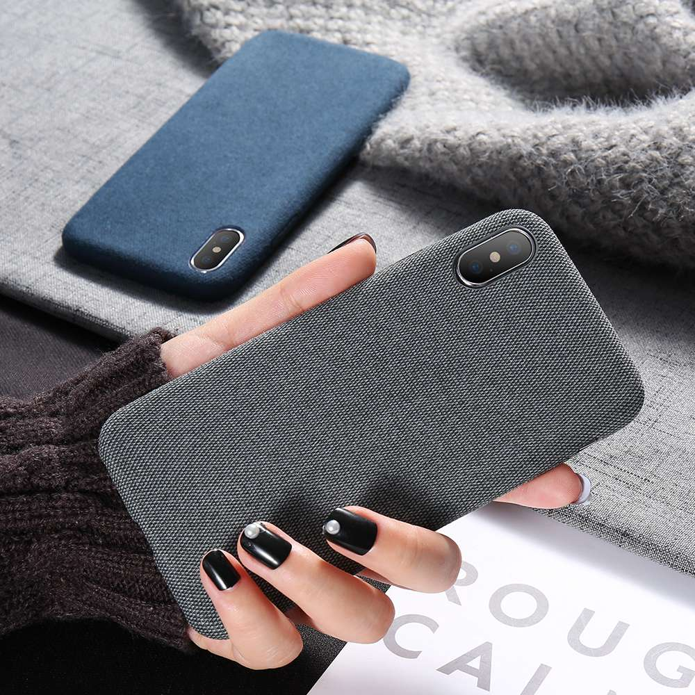 Luxury Cloth Texture Iphone Case