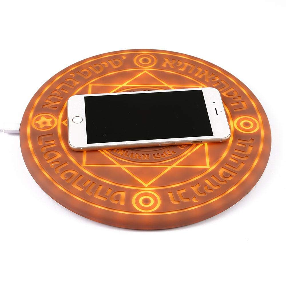 5W/10W Magic Array Fast Qi Wireless Charger Universal Pad - Wireless Chargers