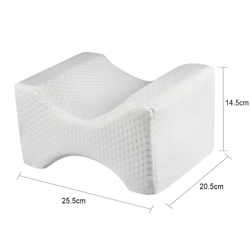 Orthopedic Knee Pillow For Sciatica Relief Hip Back Leg Joint Pain - Ideal For Pregnancy Side Sleepers