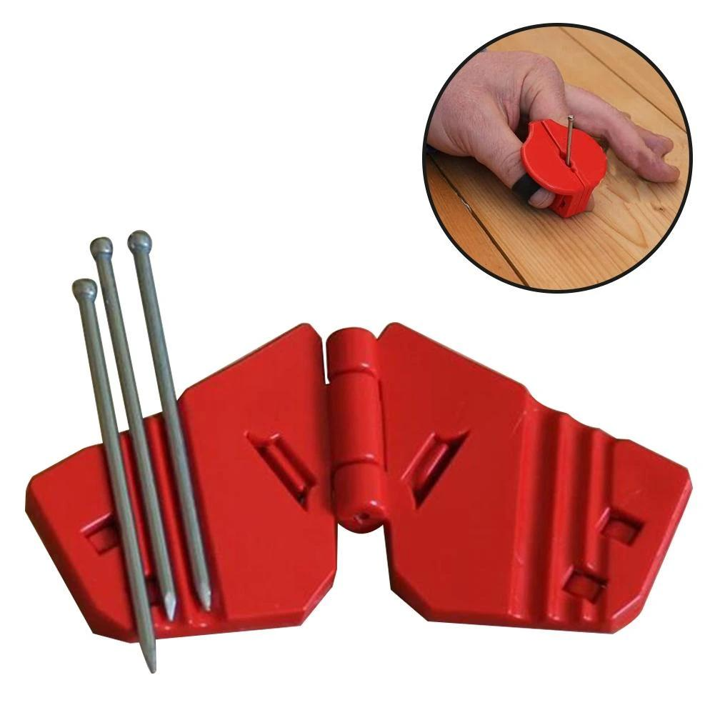 Finger Guard - Magnetic Safety Nail Guide Holder Hand Protector
