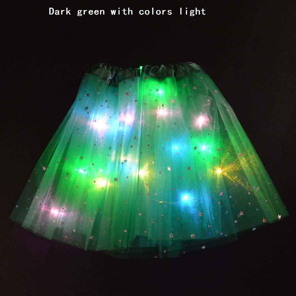 Starlight LED Princess Light Up Tutu Costume - Glow Party Supplies
