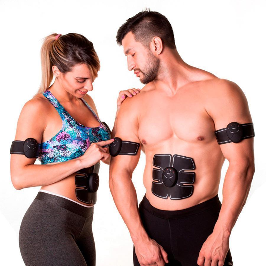Abs and Buttocks Muscle Stimulator - 6 Pack 3in1