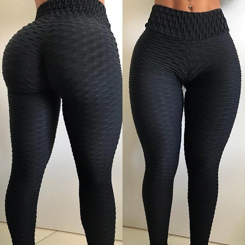 Anti-Cellulite Compression Leggings High Waist Fitness Yoga Pants