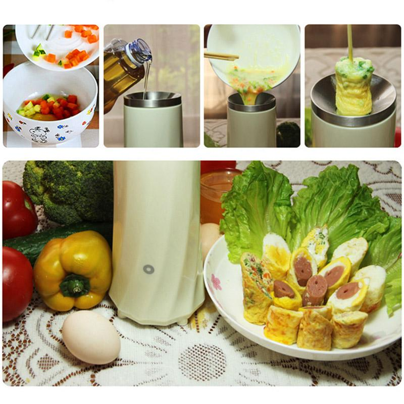 Automatic Multifunctional Single Tube Egg Roll Maker - Breakfast Egg Roll Machine