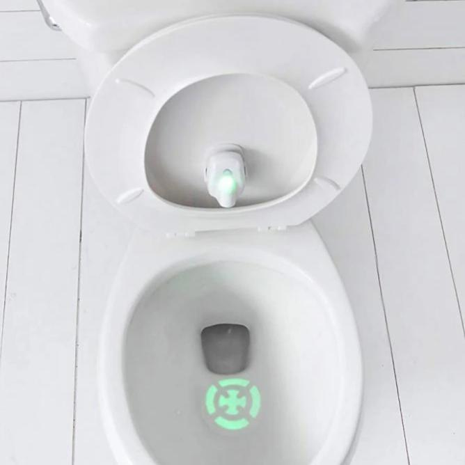 Automatic Toddler Target Training Toilet Light