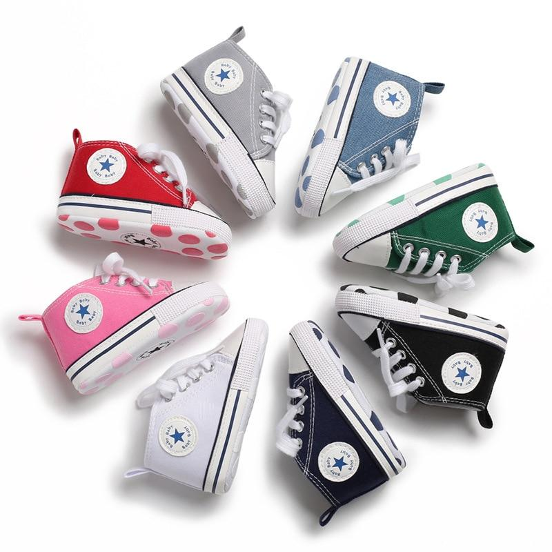 Baby Converse - infant Converse - Newborn Baby Walker Trainers - First Walkers