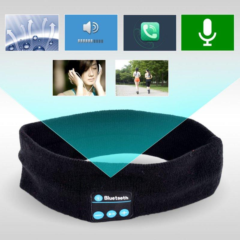 Bluetooth Music Headband Wireless Stereo Earphone Headband