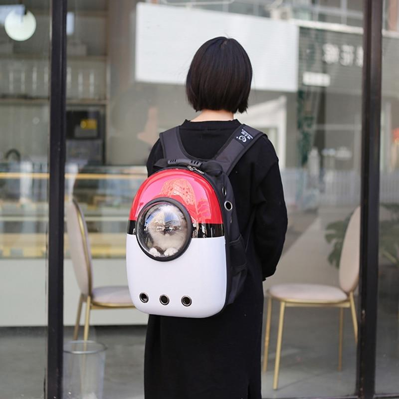 Bubble Pet Travel Backpack - Breathable Capsule Astronaut Dog Cat Carrier
