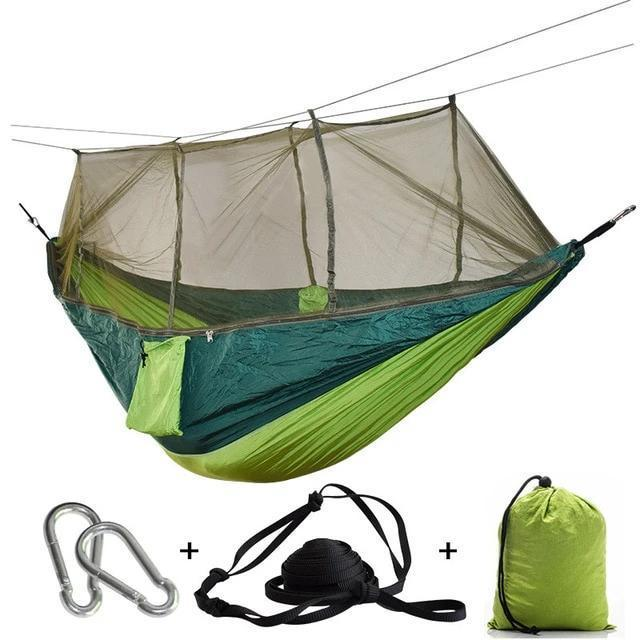 Camping Hammock Tent With Mosquito Net Portable Hanging Bed