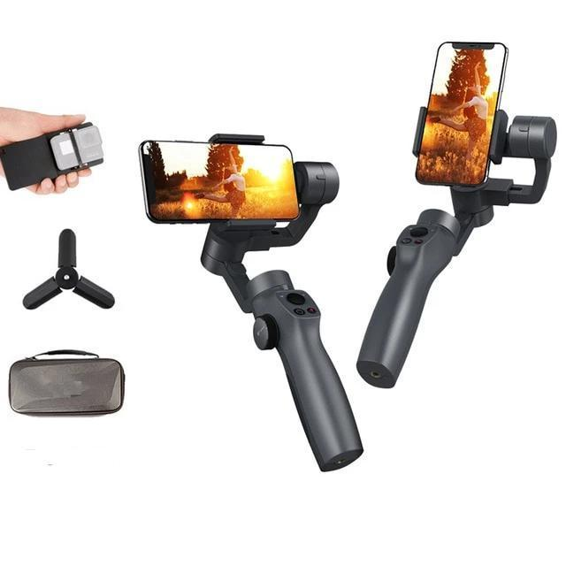 Capture2 Professional Phone Stabilizer - 3 Axis Handheld Gimbal Stabilizer For Smartphone iPhone Gopro - Handheld Gimbal