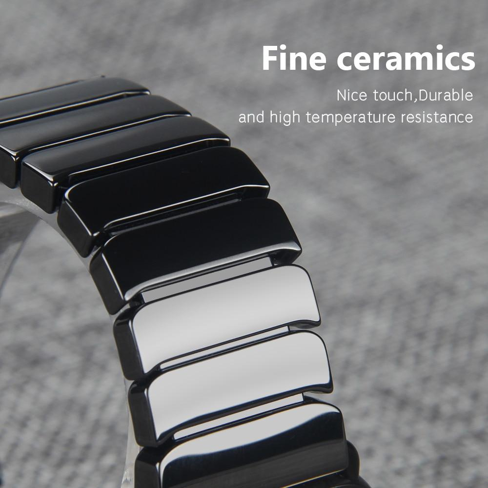 Ceramic Apple Watch Band - iWatch Band - Watchbands