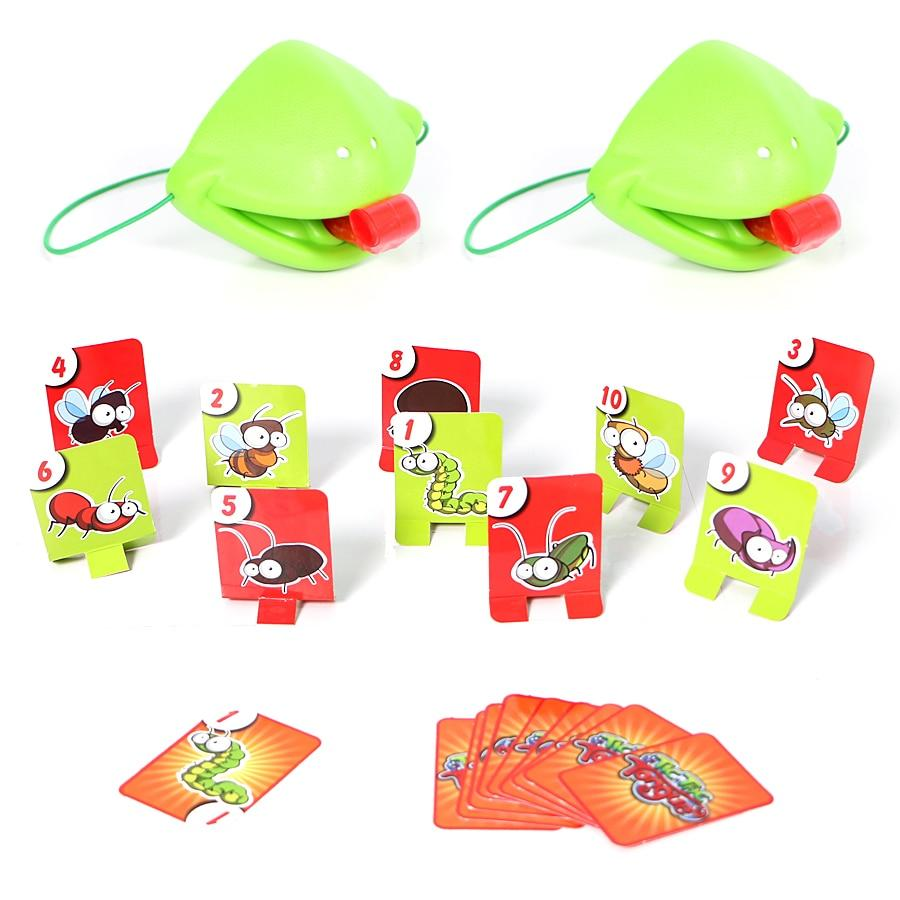 Chameleon Sticking Tongue Funny Board Game For Family Kids Party - Party Games