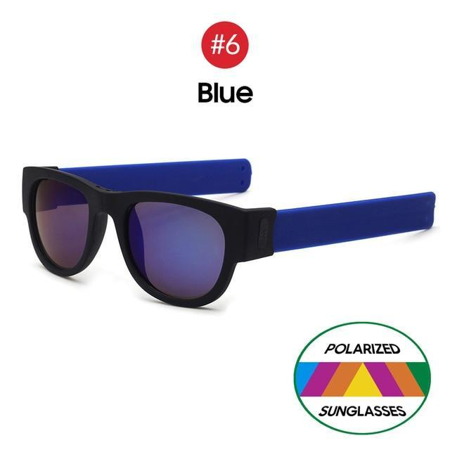 Collapsible Sunglasses - Blue