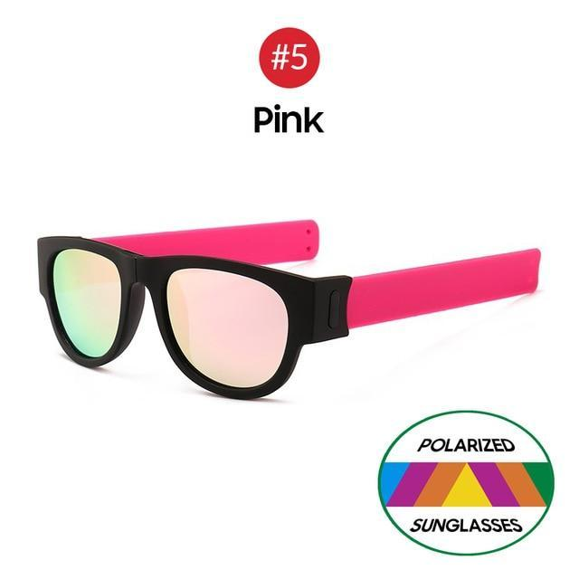Collapsible Sunglasses - Pink