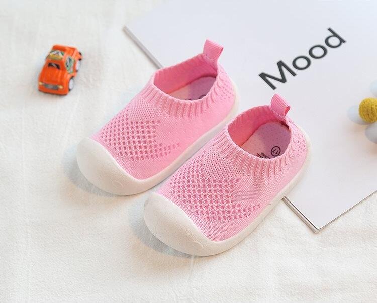 Comfortable Non Slip Mesh Sneakers For Baby Toddlers - First Walkers