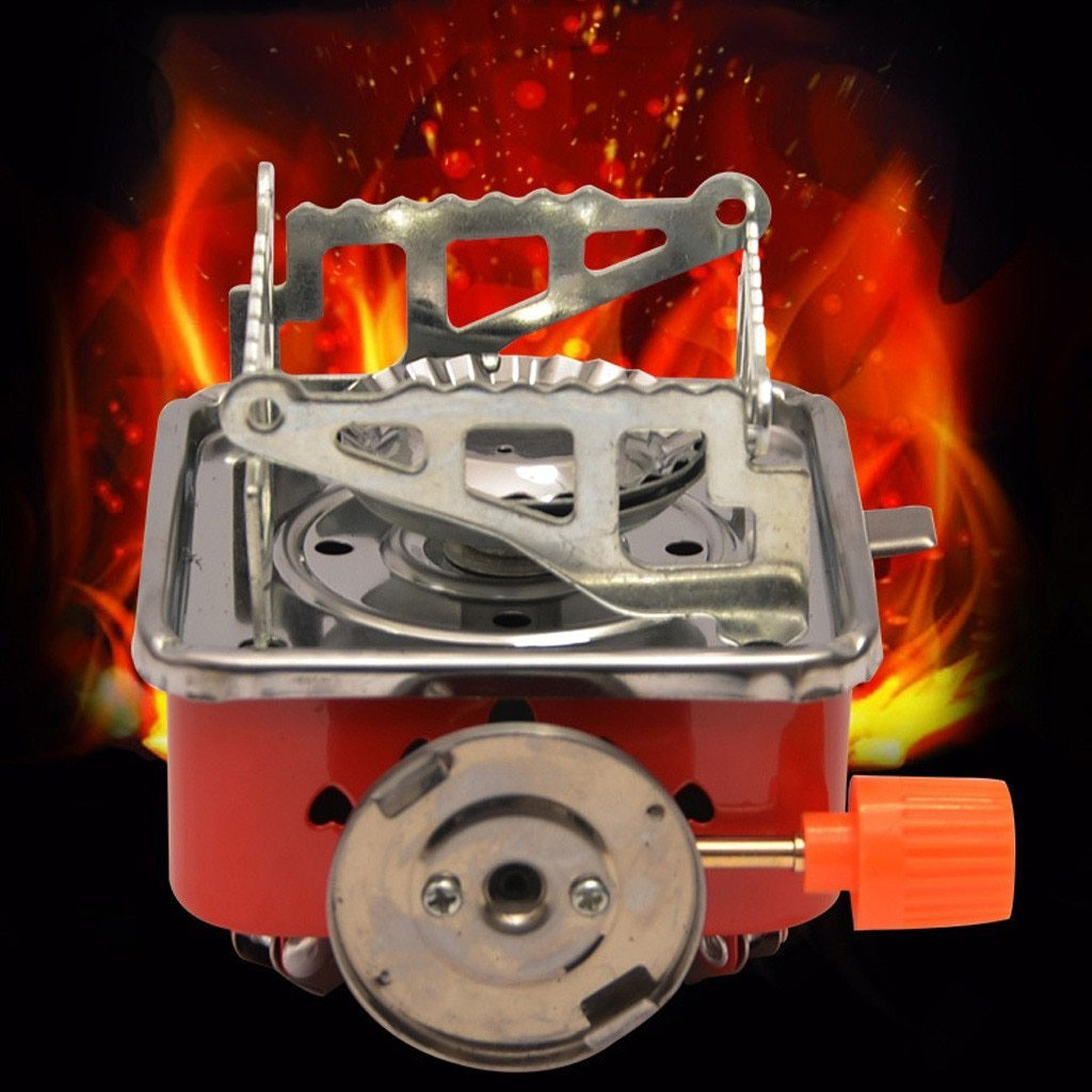 CompactStove - Outdoor Windproof Foldable Gas Stove Burner For Camping Picnic - Outdoor Stoves