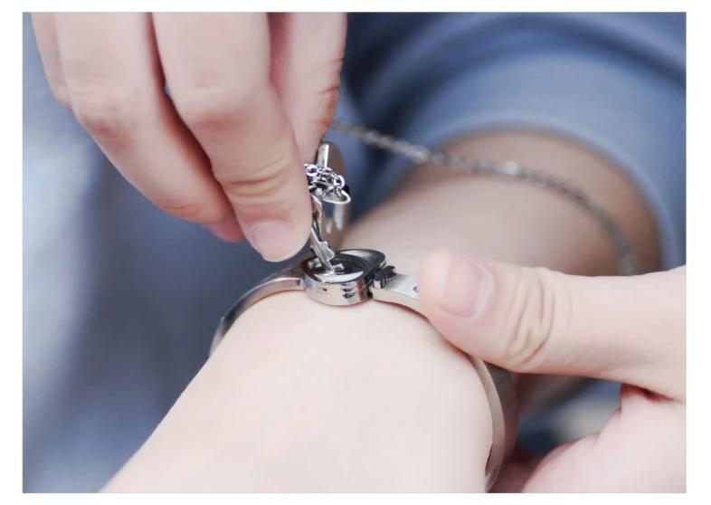 Couples Jewelry Set Love Heart Lock Bracelet Key Pendant Necklace For Lovers