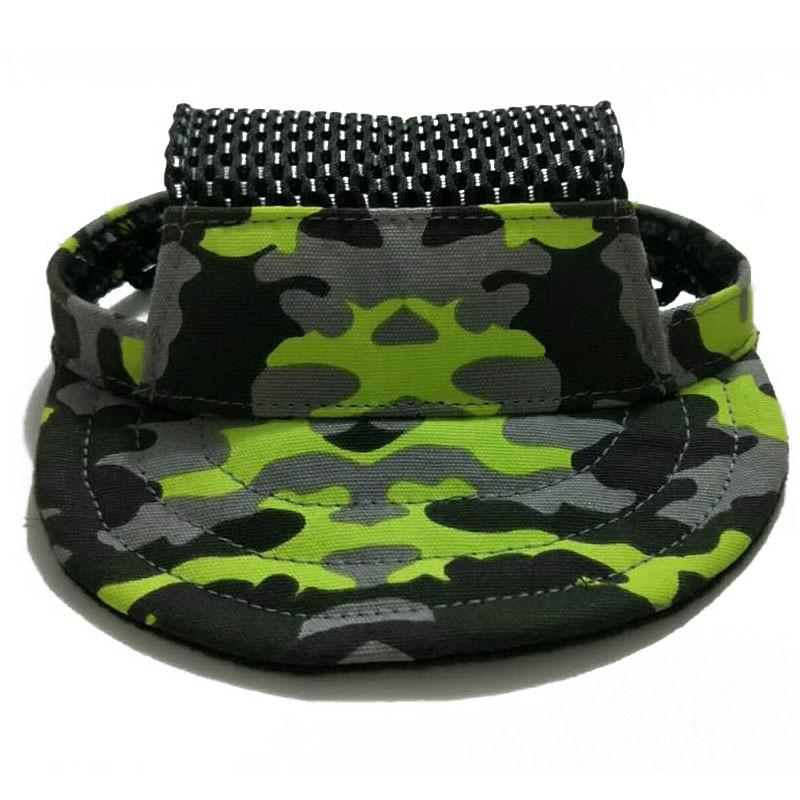 Dog Hat With Ear Holes - Puppy Baseball Cap - Mesh Camouflage / S - Dog Caps