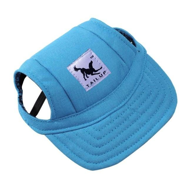 Dog Hat With Ear Holes - Puppy Baseball Cap - Oxford Blue / S - Dog Caps