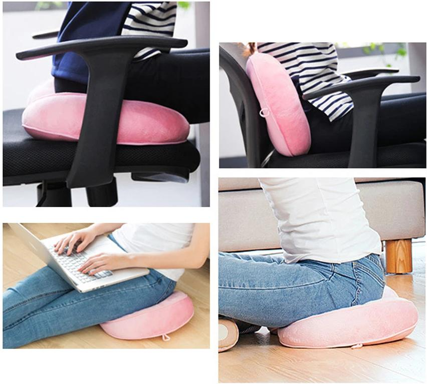 Ergonomic Pressure Relieving Cushion - Hip Up Posture Corrector Seat Cushion - Cushion