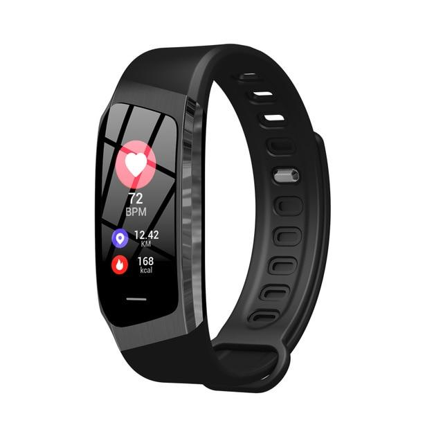 Fitness Smart Watch Waterproof Blood Pressure Heart Rate Monitor Sport Bracelet Tracker - Black - Smart Wristbands