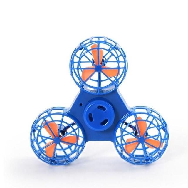 Flying Fidget Spinner - Blue