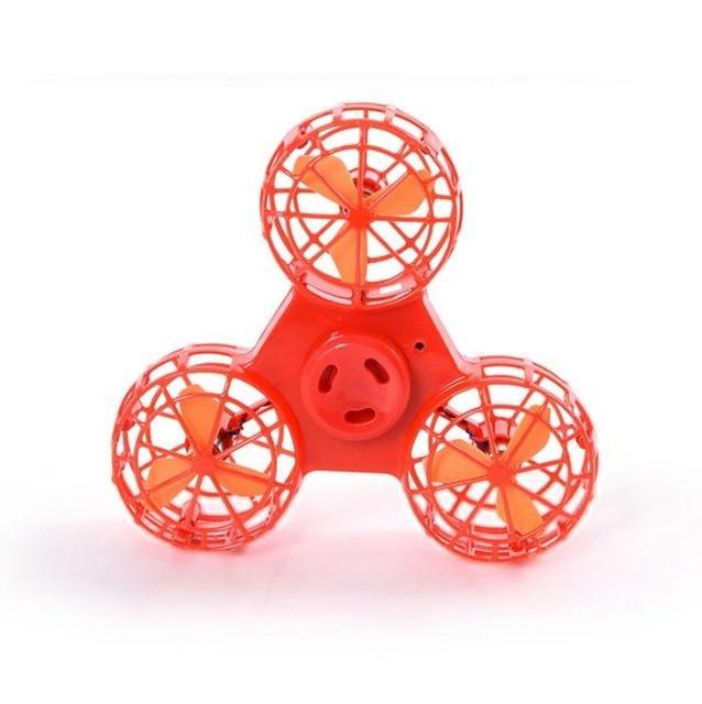Flying Fidget Spinner - Red