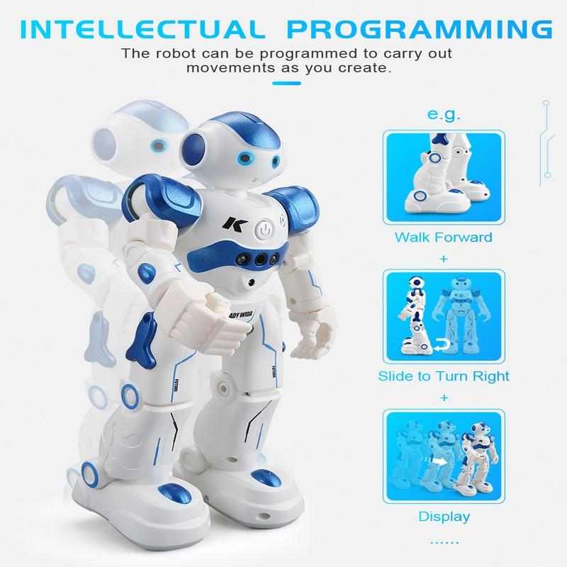 Gesture Sensing Touch Intelligent Dancing RC Robot Toy