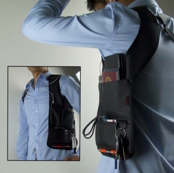 Hidden Slinger - Anti-Theft Concealed Underarm Storage Bag For Travel - Storage Bags