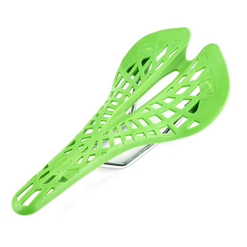 Hollow Spider Web Saddle Suspension Bike Seat - Super Light Bicycle Saddle Seat Cushion - Green - Bicycle Saddle