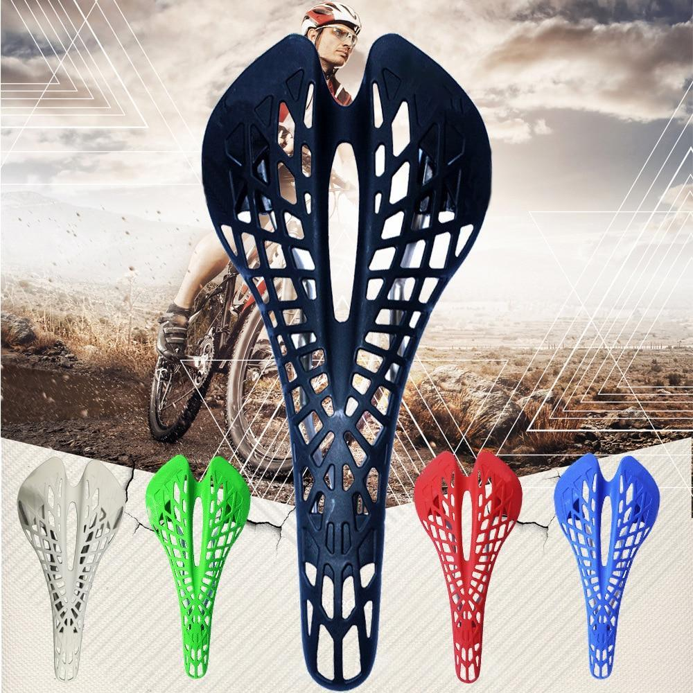 Hollow Spider Web Saddle Suspension Bike Seat - Super Light Bicycle Saddle Seat Cushion - Bicycle Saddle