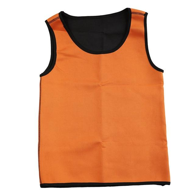 Hot Sweat Sauna Waist Trainer Vest Body Shaper Slimming Vest For Men - Shapers