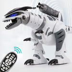Intelligent RC Robot Dinosaur - Mechanical Interactive Remote Control Dinosaur Toy