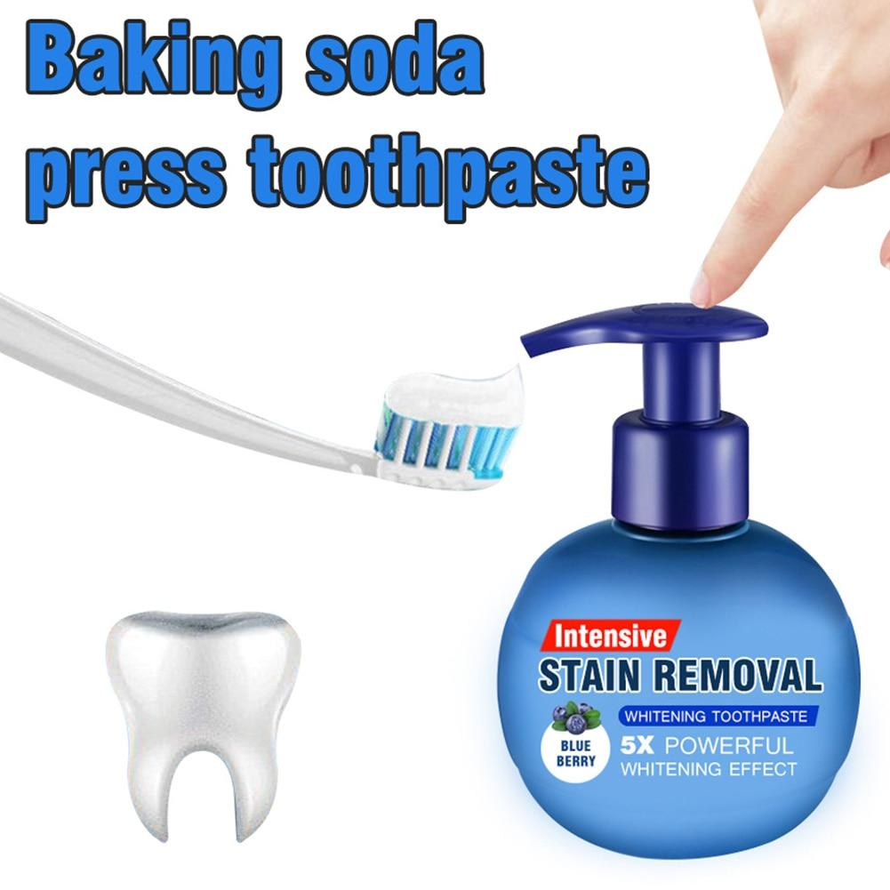 Intensive Stain Removal Whitening Toothpaste - Baking Soda Tooth Cleaning - Toothpaste