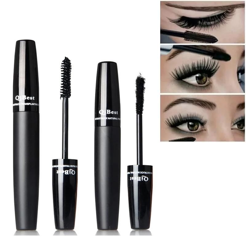 Long Lasting 3D Silk Fiber Lash Curling Mascara Waterproof Rimel - Mascara