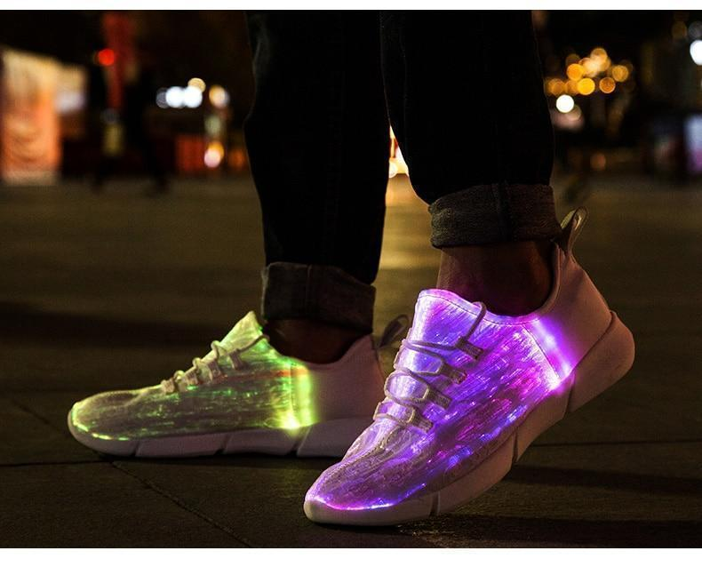 Luminous Light Up Shoes - LED Glowing Light Up Sneakers For Kids & Adults