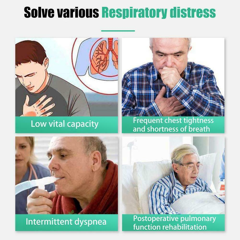 LungCare - Deep Breathing Respiratory Exerciser Lung Capacity Exercising Device