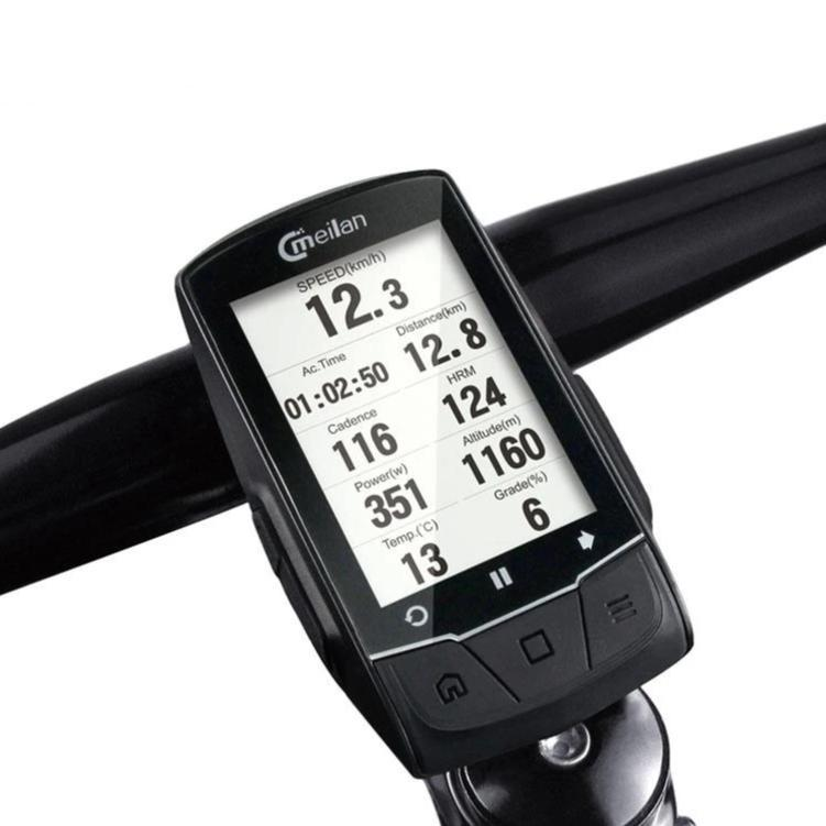 Smart Bicycle Speedometer Cyclometer With GPS Navigation - Bicycle Computer