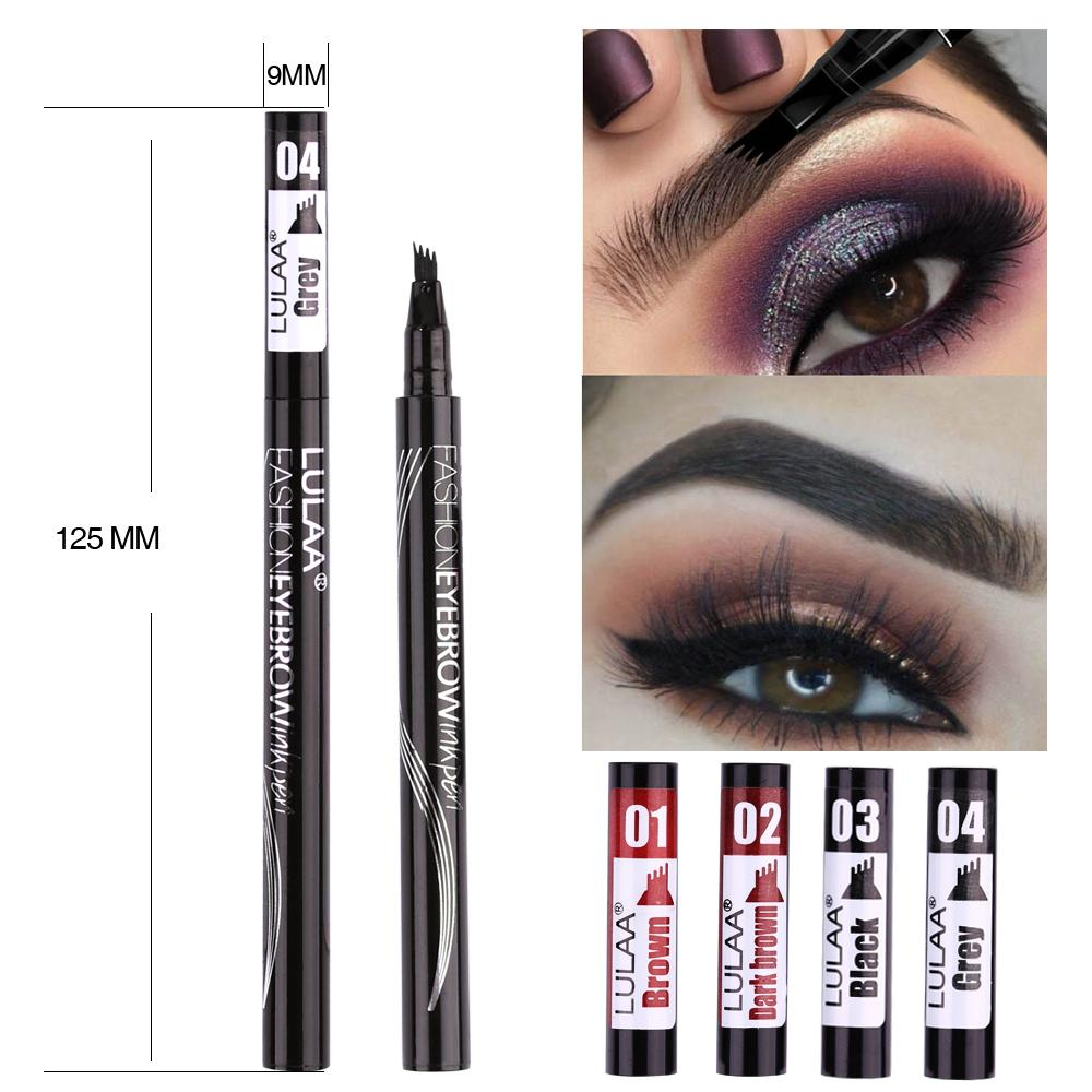 Microblading Waterproof Eyebrow Pen - Long Lasting Eyebrow Tattoo Pencil - Eyebrow Enhancers