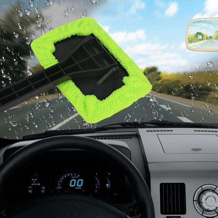 Microfiber Car Windshield Cleaner Brush Wiper - Auto Cleaner Tool