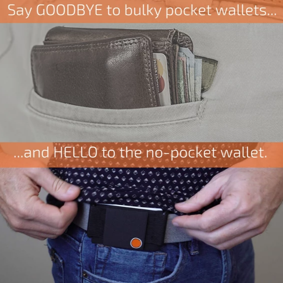 Minimalist Clip-On Invisible Wallet