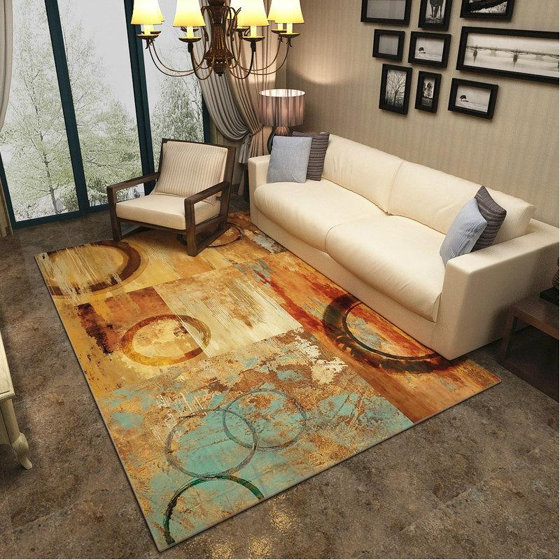 Modern Art Carpets For Living Room - Abstract Area Rugs For Bedroom Home Decor - BO-50 / 120x160 cm/47x63 inch - Rugs